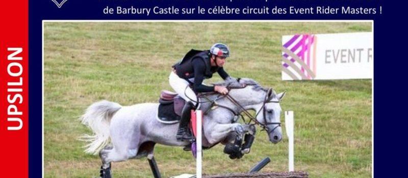 UPSILON à nouveau vainqueur du CIC3* de Barbury Castle !