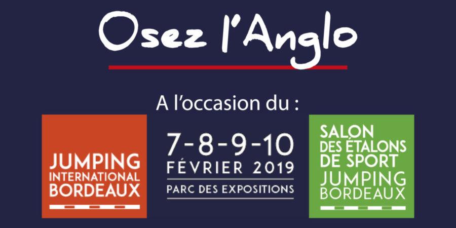 Génétiqu'Anglo vous offre vos entrées pour le Jumping International de Bordeaux !