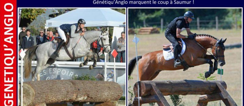 Carton plein pour les produits Génétiqu'Anglo à Saumur !
