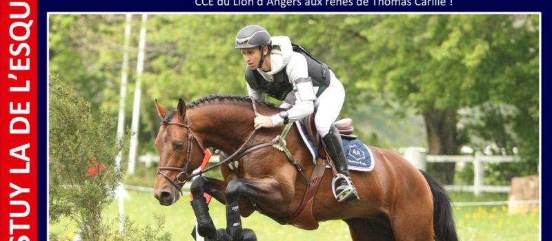 CESTUY LA DE L'ESQUES, vainqueur de la Pro3 au GN CCE du Lion d'Angers !