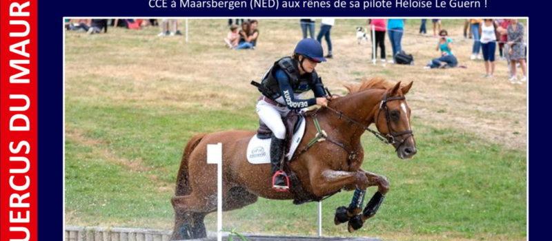 La fille de Quercus du Maury sélectionnée pour les prochains Championnats d'Europe CCE !